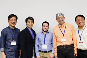 Winners(Dr. Rodrigo Espinosa from MD Anderson Cancer Center , Dr. Boku, Dr. Tsurutani, Dr. Ueno and  Dr. Lee)